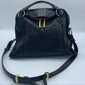 Marc Jacobs Large Fulton Leather Satchel